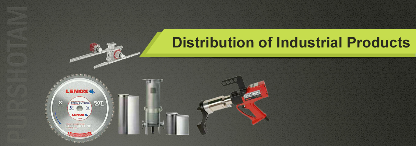 Distribution of industrial products