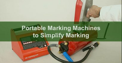 portable metal marking machine